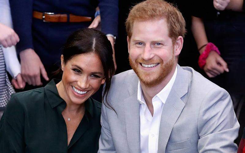 The Sussexes have moved to a new home in Santa Barbara - Chris Jackson