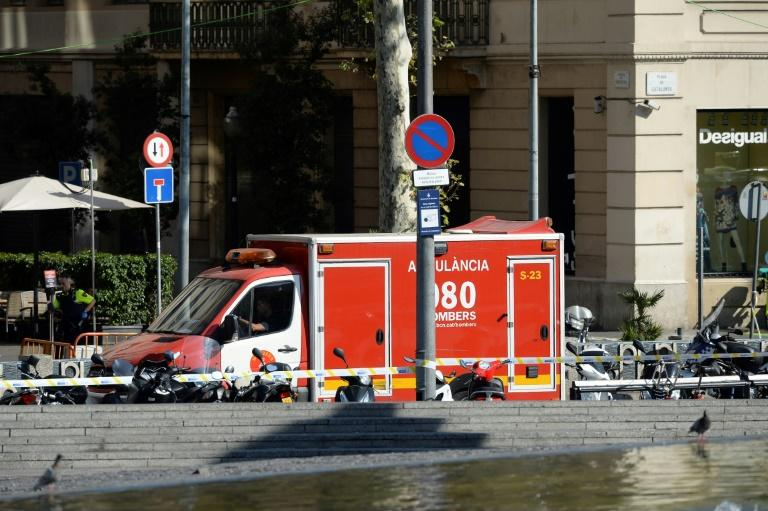 Van Hits Pedestrians in Barcelona, Injuring Several