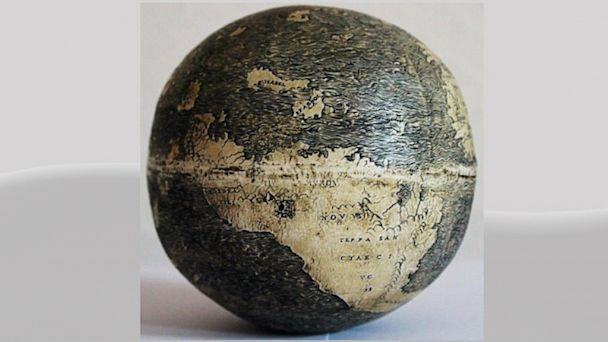 ht ostrich globe kb 130823 16x9 608 Oldest Globe Showing the New World Discovered on Ostrich Egg