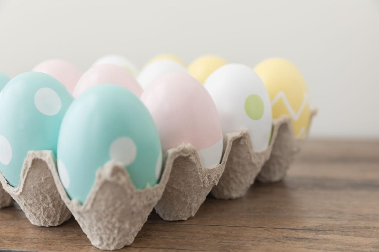 "<p>Bye bye, egg dye. This year, toss your <a rel=""nofollow"" href=""https://www.countryliving.com/life/a19595952/instant-pot-easter-eggs/"">food coloring</a> and vinegar and take a stab at any of the unique Easter egg painting ideas currently blowing up the <a rel=""nofollow"" href=""https://www.countryliving.com/diy-crafts/how-to/g1111/easter-crafts/"">holiday craft sphere</a>. We're talking textured eggs, marbled eggs (made from nail polish!), and every kind of paint-infused, hard-boiled shell you can think of. Even the least crafty bunnies can conquer these incredibly DIY-friendly <a rel=""nofollow"" href=""https://www.countryliving.com/diy-crafts/how-to/g1282/easter-egg-decorating-ideas/"">egg decorating ideas</a>, so hop to it! And, while you're at it, check out our <a rel=""nofollow"" href=""https://www.countryliving.com/diy-crafts/g3099/easter-basket-ideas/"">Easter basket ideas guide</a> and <a rel=""nofollow"" href=""https://www.countryliving.com/entertaining/g3100/easter-games/"">family-approved Easter games</a>. </p>"
