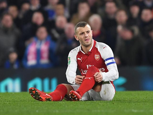 Jack Wilshere expects swift Arsenal return after playing down injury concerns