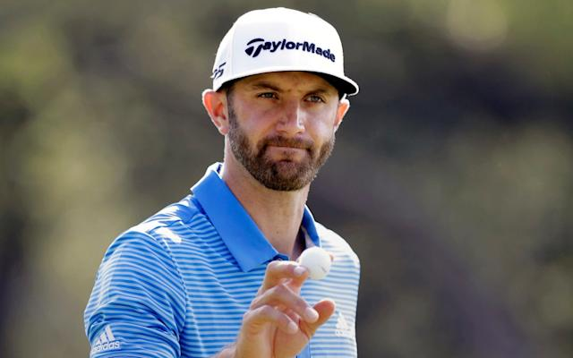 Dustin Johnson at the WGC Dell World Matchplay which he won - AP