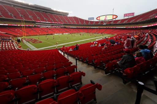Chiefs, Texans fine-tuning for NFL opener Thursday night