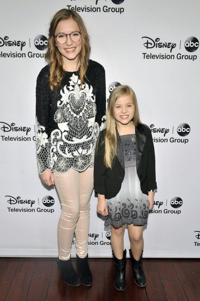 "Lennon and Maisie Stella (""Nashville"") attend the Disney ABC Television Group 2013 TCA Winter Press Tour at The Langham Huntington Hotel and Spa on January 10, 2013 in Pasadena, California."