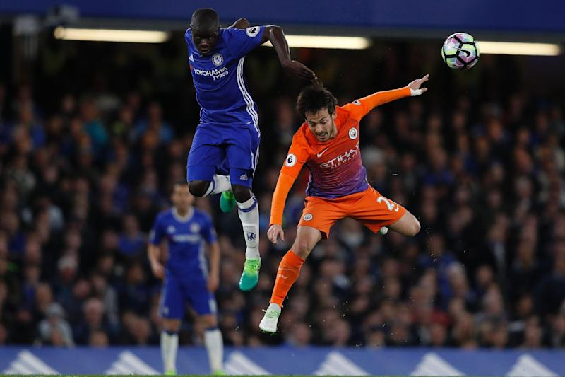 Energy: N'Golo Kante has won plaudits for his displays in Chelsea's midfield: AFP/Getty Images