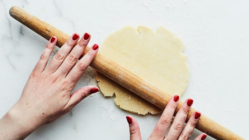 This French-style rolling pin is not just the most chic—it's the most functional. Thanks, France!