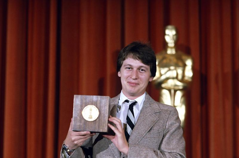 This undated publicity photo provided by the Motion Picture Academy of Arts and Sciences shows Ken Kwapis at the 1982 (9th) Student Academy Awards ceremony. The latest group of Student Academy Award winners will be celebrated at a ceremony at the Motion Picture Academy of Arts and Sciences in Los Angeles on June 8, 2013. (AP Photos/AMPAS)