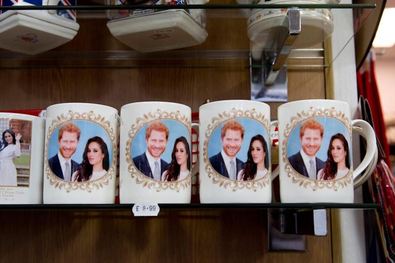 The merch isn't cheap – and all profits go back to the Queen's estate. Photo: Getty