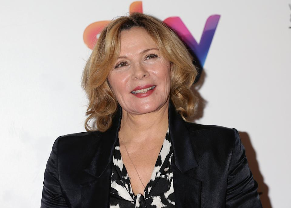 Kim Cattrall at the Women in Film & TV Awards in London.