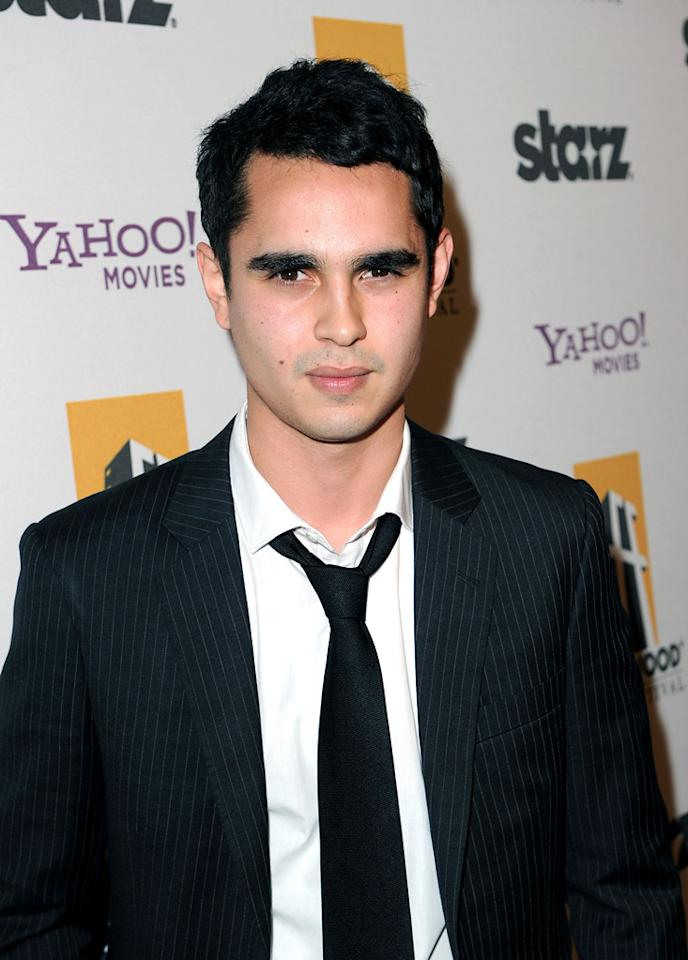 """<a href=""""http://movies.yahoo.com/movie/contributor/1808617316"""">Max Minghella</a> attends the 14th Annual Hollywood Awards Gala at the Beverly Hilton Hotel on October 25, 2010."""