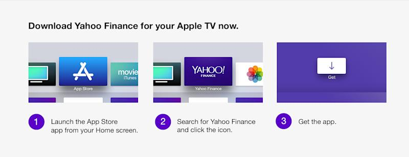 Yahoo Finance is now available on Fire TV, Android TV and Apple TV