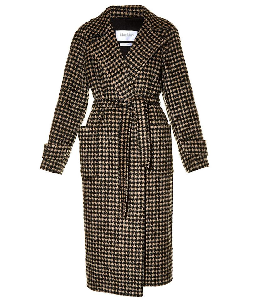 "<p>Max Mara Dax Coat, $2,634, <a href=""http://www.matchesfashion.com/us/products/Max-Mara-Dax-coat-1024939"">matchesfashion.com</a><br /><br /></p>"