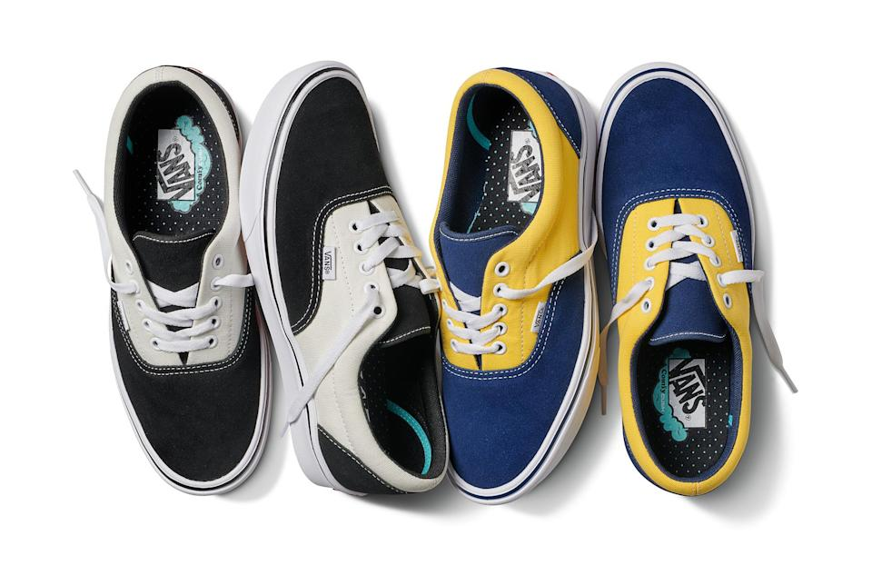 Vans will release new ComfyCush Era colors and styles throughout the season. (Photo: Vans)