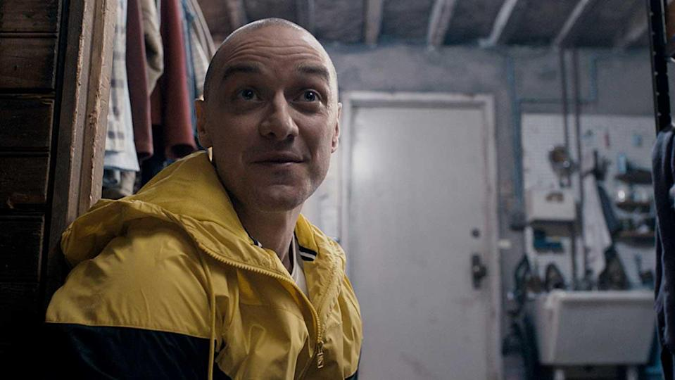 One of the many James McAvoys in Split (credit: Universal Pictures)