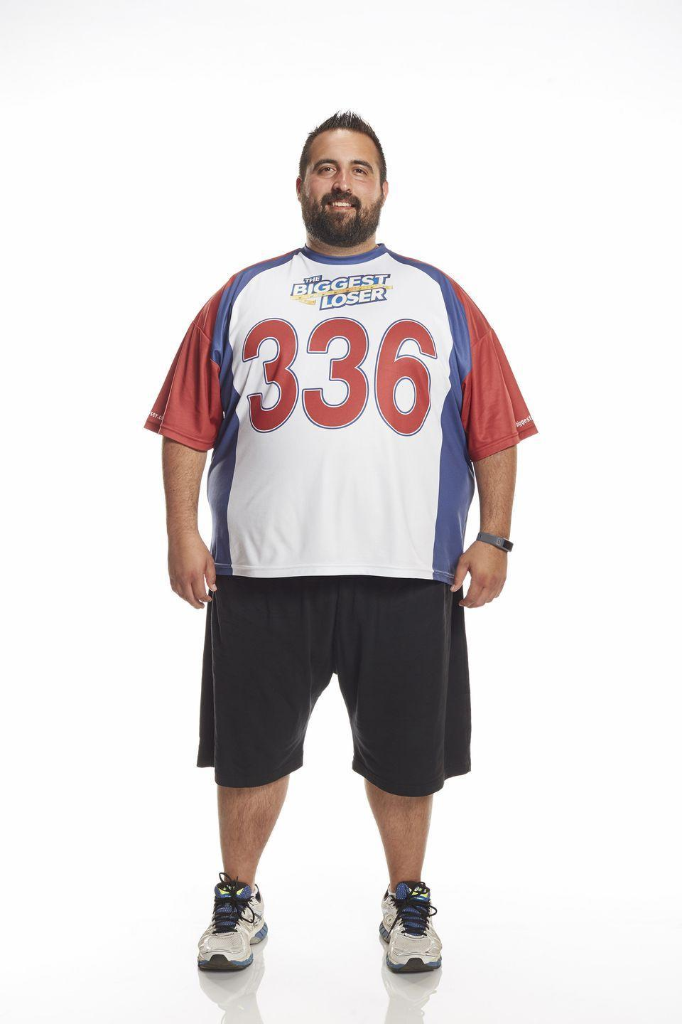 <p>The 36-year-old from Illinois was 336 pounds at the start of season 16. His BMI was 46.9.</p>