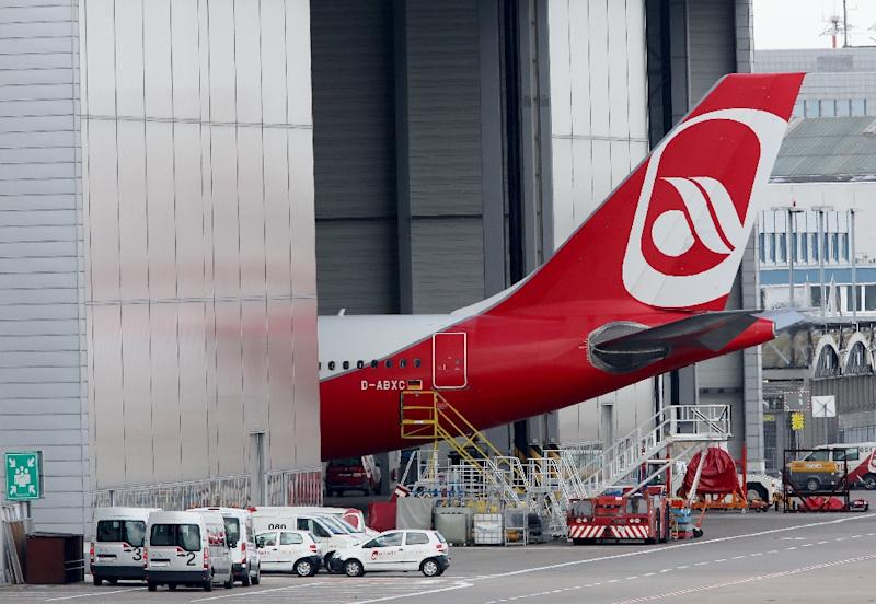 More Air Berlin planes were staying in their hangers Wednesday as the insolvent airline was forced to cancel dozens of flights when pilots called in sick in a second day of wildcat action