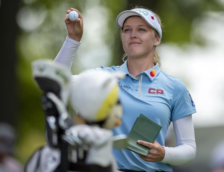 Canada's Brooke Henderson finally back in action at Women's British Open