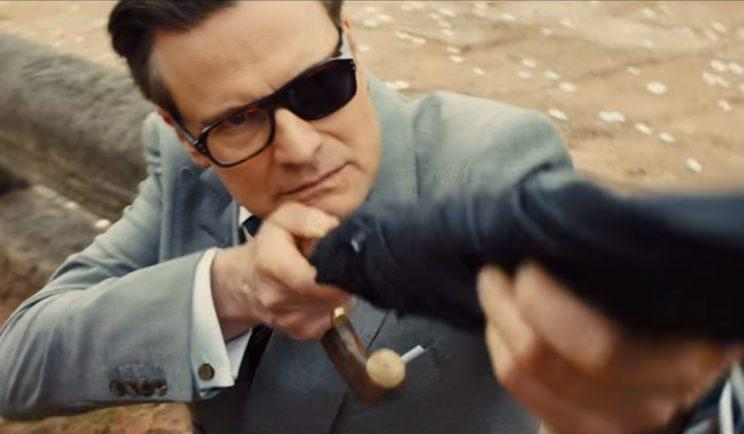 Colin Firth is back in Kingsman: The Golden Circle - Credit: 20th Century Fox