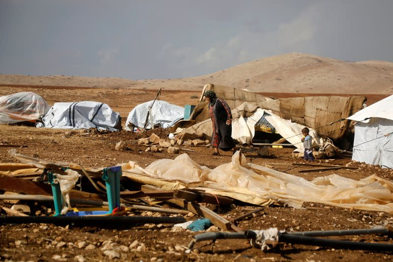 Israel razes most of Palestinian Bedouin village in West Bank on U.S. election day
