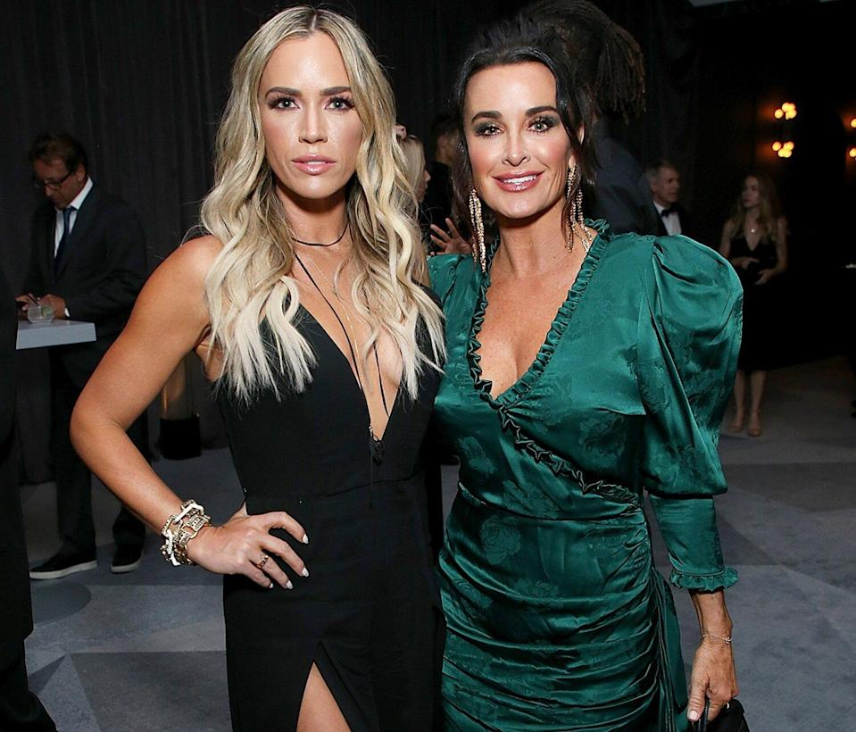 Teddi Mellencamp and Kyle Richards attend the 2018 Netflix Emmy After-Party at NeueHouse Hollywood on September 17, 2018 in Los Angeles, California.