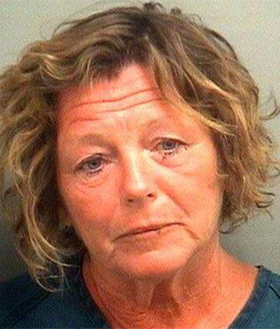 """When this middle school math teacher was arrested on a DUI charge, she allegedly offered the arresting officer oral sex and the opportunity to fondle her breasts.  <a href=""""http://www.huffingtonpost.com/2013/01/15/mary-maloney-teacher-oral-sex_n_2480053.html"""">Read the whole story here.</a>"""