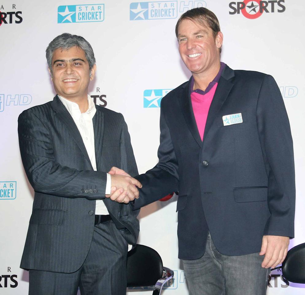 Shane Warne joins the broadcast team for the India-England Test series_4