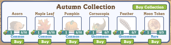 farmville autumn collection gifting links