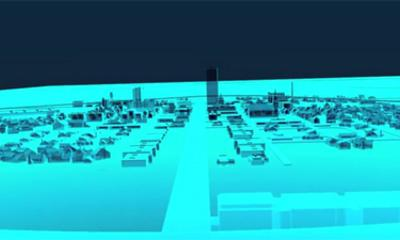 Scientific Ghost City To Test Future Technology