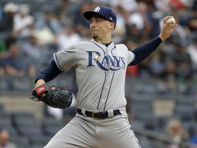 Blake Snell's Twitch comments didn't go over well with some. (AP Photo/Seth Wenig)