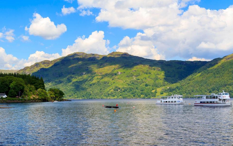 Loch Lomond is one of Scotland's most popular national parks - ALAMY
