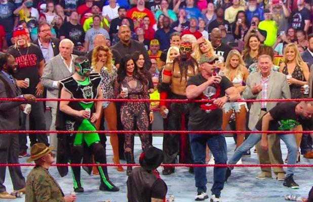 WWE's 'Raw Reunion' Is Highest-Rated Episode Since 2018 Superstar Shakeup