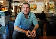England's newly appointed cricket coach Trevor Bayliss, pictured during an interview with AFP in Colombo, in 2011 (AFP Photo/Ishara S. Kodikara)