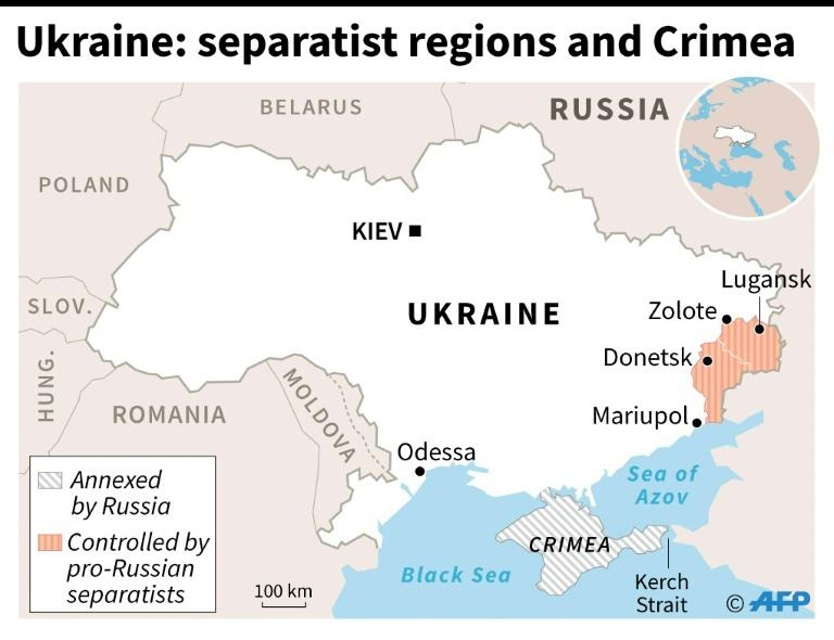 The five-year-old separatist conflict has claimed some 13,000 lives