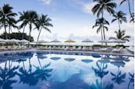 """<p>Hawaii in general can be a state where the lines between vacation and real life are very thin. The <a href=""""https://www.halekulani.com/"""" rel=""""nofollow noopener"""" target=""""_blank"""" data-ylk=""""slk:Halekulani Hotel"""" class=""""link rapid-noclick-resp"""">Halekulani Hotel </a>in Honolulu lets you know you're on vacation in a swift and luxurious way. This isn't just any old resort—the Halekulani Hotel focuses on authentic Hawaiian culture in a way that respects native Hawaiians and allows its guest to learn about rather than exploit the many beautiful traditions that began on the island. 'The Secret of Spearfishing' is a new program that allows guest to immerse themselves in a generations-old sustainable practice while being educated on fisherman culture that is very dear to Hawaii. Have you booked your stay yet?</p>"""