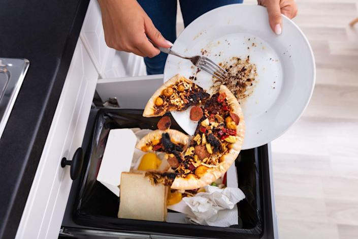 <p>You might be regularly changing the garbage bag, but let's be real: how often do you actually clean the trash cans in your house? The bags don't protect them from everything, and not only can bits of food and other things get stuck in there, but they can start to smell. </p><p><strong>How to clean</strong>: Put some gloves on, bring the cans outside and empty them out completely. Turn the hose on and really wash them down, inside and out. Pat dry with a paper towel, then spray with a disinfectant spray, both inside and out. Use a brush to scrub everything clean, let it sit for a few minutes, then rinse out once again before allowing to dry. </p>