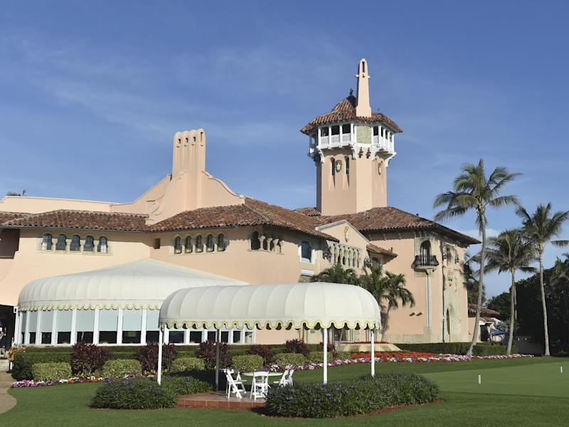 The event was scheduled to be held at Mar-a-Lago on 7 November: Getty