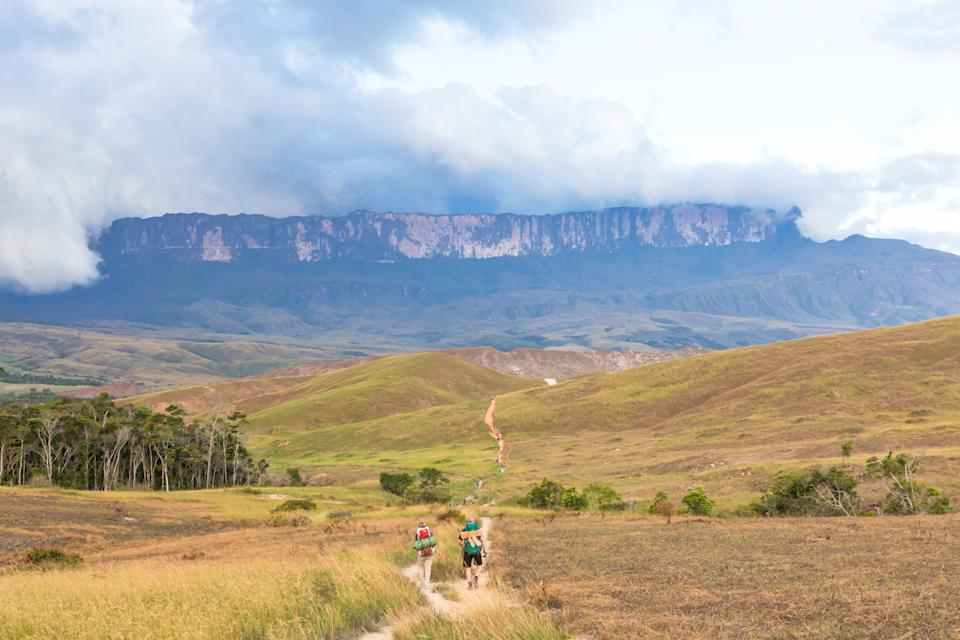 Mount Roraima in Venezuela, South America