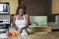 """<p>Ultimately, in order to lose weight, you have to burn more calories than you take in. """"You have to create a <a href=""""http://www.mayoclinic.org/healthy-lifestyle/weight-loss/in-depth/calories/art-20048065"""" class=""""link rapid-noclick-resp"""" rel=""""nofollow noopener"""" target=""""_blank"""" data-ylk=""""slk:deficit of 3,500 calories to lose one pound"""">deficit of 3,500 calories to lose one pound</a>,"""" White explained. """"This can be done by burning extra calories through exercise or reducing your intake of calories, but the best way is to use a combination of both methods. This ensures that you're giving your body enough nutrients during periods of weight loss."""" </p> <p>However, eating in a 3,500-calorie deficit doesn't guarantee an exact weight loss of one pound. There are a lot of other factors that impact how your body loses weight, including stress, sleep, and hormones. </p> <p>Although you should eat in a calorie deficit, he doesn't recommend anyone eat fewer than 1,200 calories a day. And since calorie needs are highly individual from person to person, White recommends meeting with a registered dietitian if you can to assess your needs and your goals. If that's not a possibility, you can <a href=""""https://www.popsugar.com/fitness/How-Many-Calories-Should-I-Eat-Lose-Weight-45132272"""" class=""""link rapid-noclick-resp"""" rel=""""nofollow noopener"""" target=""""_blank"""" data-ylk=""""slk:use this formula"""">use this formula</a> to calculate your ideal calorie deficit for weight loss.</p>"""