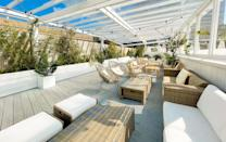 """<p>You may be familiar with the pergola's dotted around London – huge terraces adorned with flowers humming with activity and serving varied plates of food and cocktails all night long. Open this summer is the new garden-inspired champagne <a href=""""https://www.pergolapaddington.com/"""" rel=""""nofollow noopener"""" target=""""_blank"""" data-ylk=""""slk:terrace"""" class=""""link rapid-noclick-resp"""">terrace</a> in collaboration with Moët & Chandon. Here, you can enjoy sweeping views of west London whilst feasting on burgers from Filth & Co, sushi and gyoza from Niji – all the while sipping on a curated summer menu of classic bubbles to Moët champagne slushies.</p><p> Pergola Paddington's Moët & Chandon Champagne Terrace is open throughout summer.</p>"""