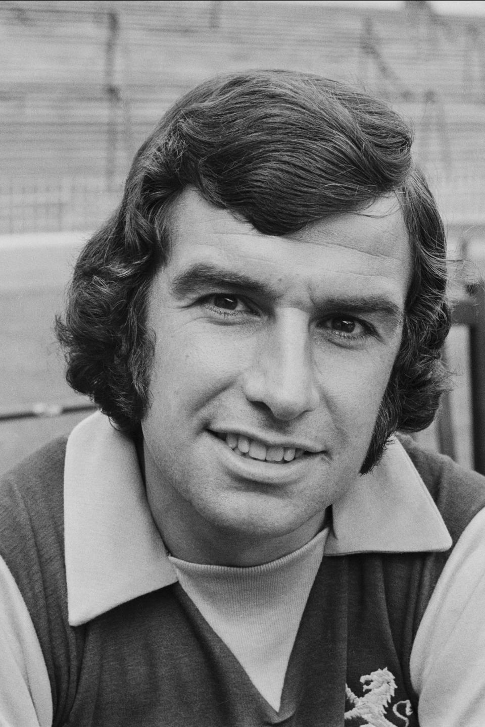 Footballer Brian Tiler (1943 - 1990) of Aston Villa F.C., UK, 23rd August 1971. (Photo by Daily Express/Getty Images)