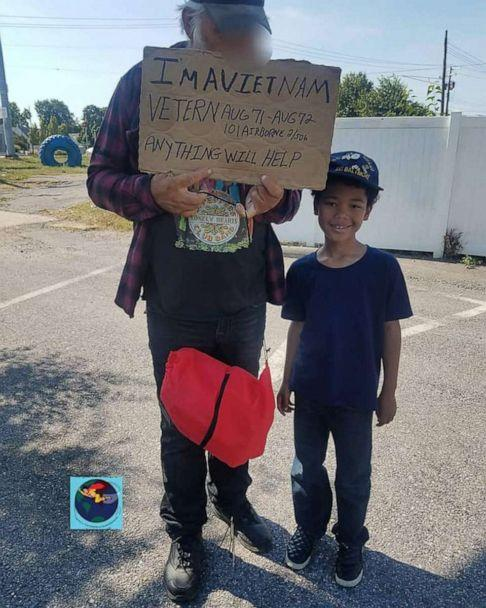 PHOTO: Tyler has been passionate about helping homeless veterans since he was 4 years old, nearly half of his life. (Andrea Blackstone)