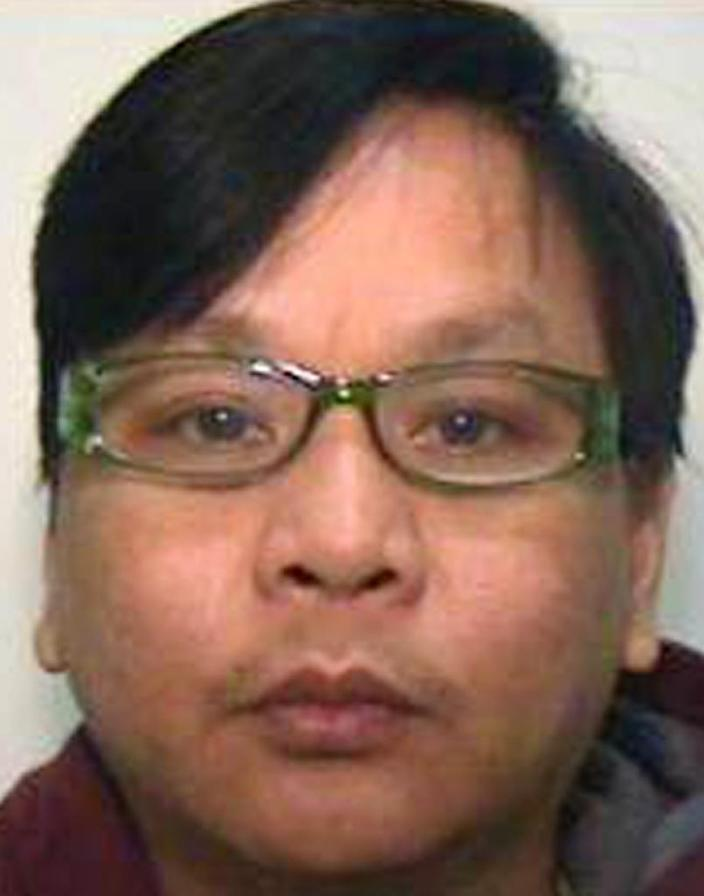 Victorino Chua, 49, was jailed for life for murder after poisoning patients by injecting insulin into saline bags (AFP Photo/)