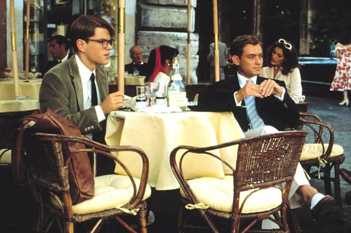 """Matt Damon and Jude Law in """"The Talented Mr. Ripley."""" (Photo: Paramount Pictures)"""