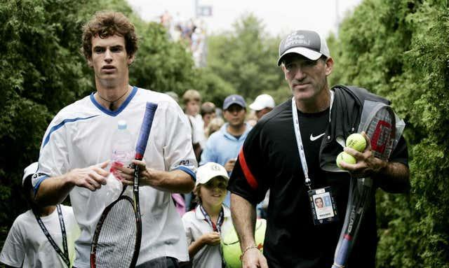 Andy Murray and former coach Brad Gilbert