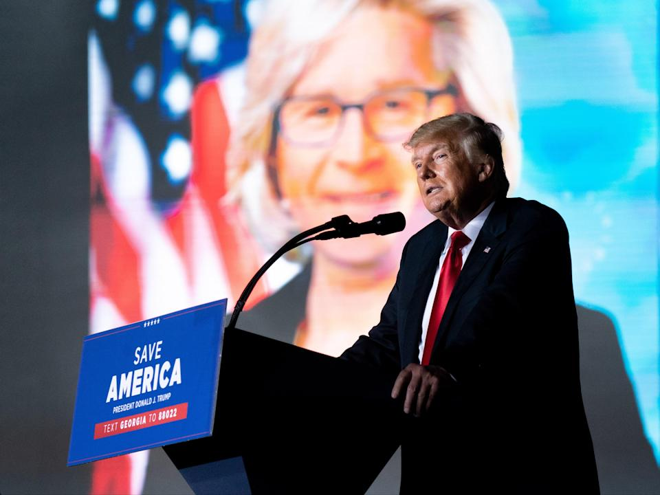 Former US president Donald Trump (Getty Images)