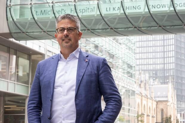 Dr. Sean Rourke says there is still stigma around getting an HIV diagnosis, which may prevent people from accessing tests. (Yuri Markarov/Unity Health Toronto/The Canadian Press - image credit)