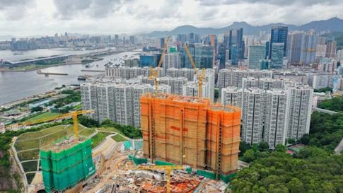A view of Koko Hills in Lam Tin by Wheelock Properties on 10 July 2020 Photo: Sun Yeung