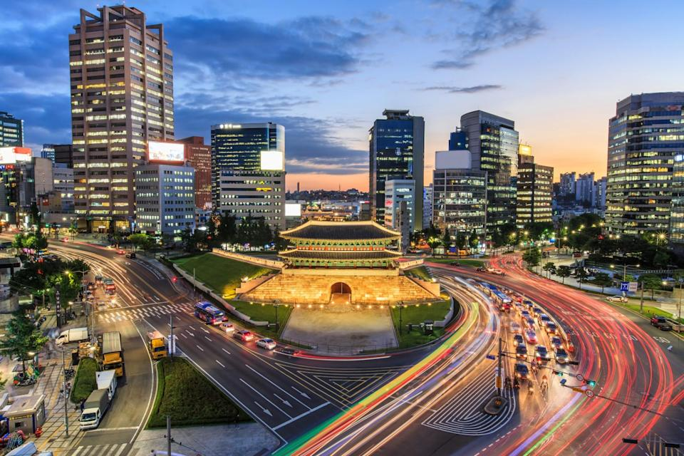 <p>Also in second place in South Korea, with 16 bank holidays (Getty Images) </p>