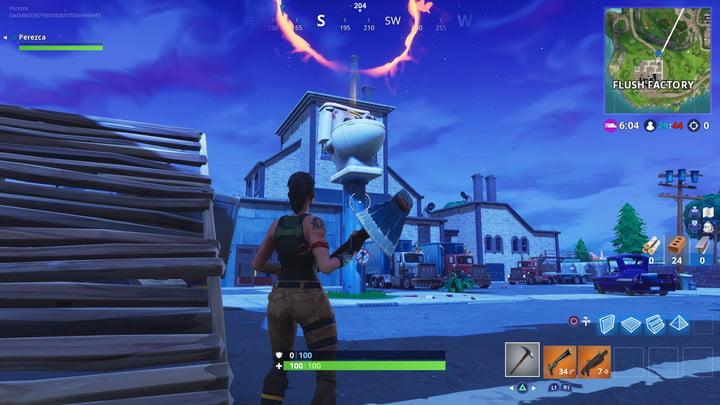 fortnite search between three oversized seats challenge guide