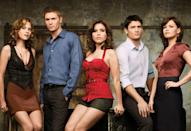 <p><strong><em>One Tree Hill </em></strong><br><br>Battling brothers, romantic entanglements and basketball, the fictional Tree Hill was hopping with relationship drama.</p>